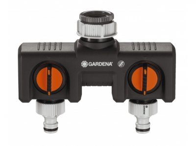 Gardena Twin Tap Connector 8193