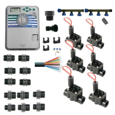 Hunter Control Unit With Manifold and 6 Solenoid Valves