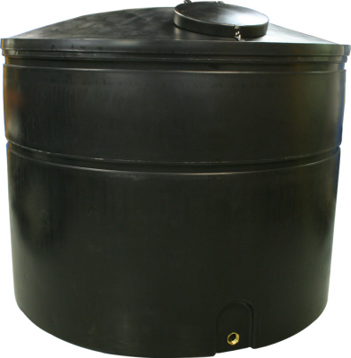 6250 Litre Standard Duty Water Tank Height 165 cm Diameter 220 cm