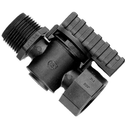 Threaded Tap 3/4 Inch Male - Female Valve