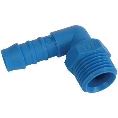 Tefen Hose Elbow With Male Thread