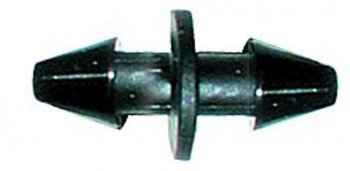 Barbed Connector 6mm O/D Pipe