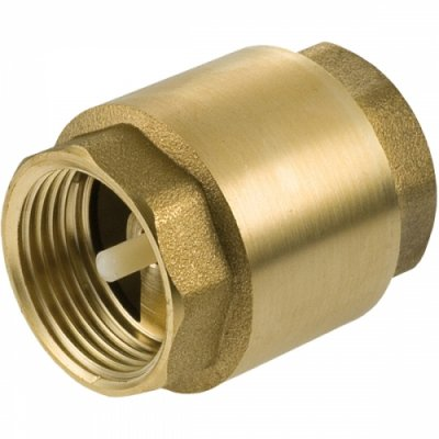 "Brass Spring Non Return Valve 3/4"" Female Thread"