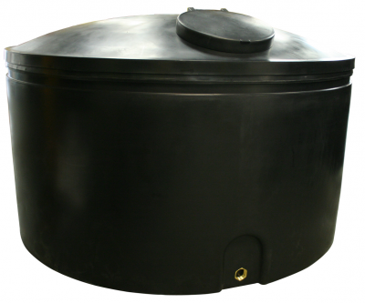 4500 Litre Water Storage Tank Height 140cm Diameter 220 cm