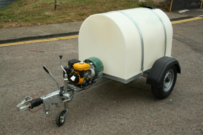 1000 Litre Water Bowser With Petrol Pump Suitable For Highway Use