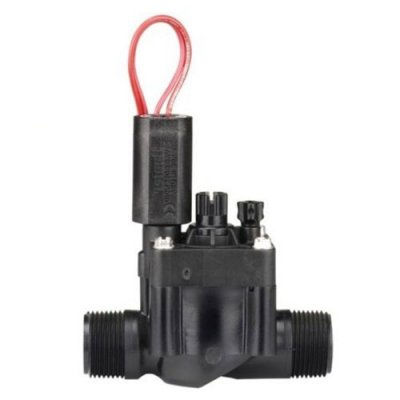 "Hunter PGV 24v ac Solenoid Valve 1"" BSP Male Thread With Flow Control"