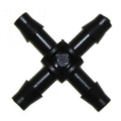 Mini Barbed Cross Piece 6mm
