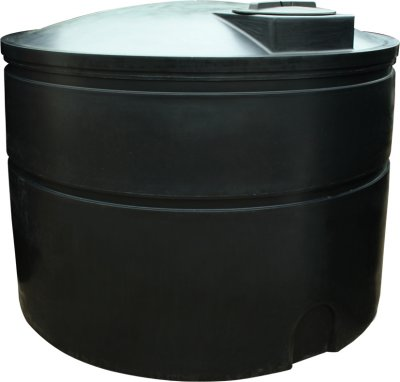 5000 Litre Light Duty Water Storage Tank Height 160cm Diameter 205 cm
