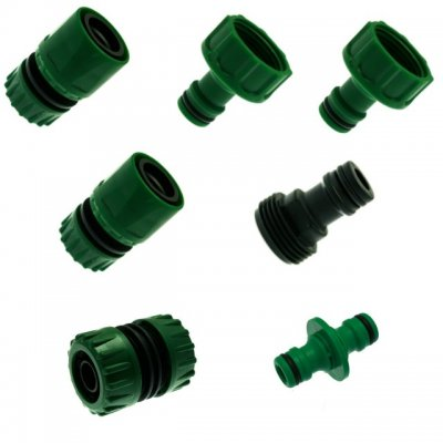 "Click Fit Hose Connection Set For 1/2"" Hose"