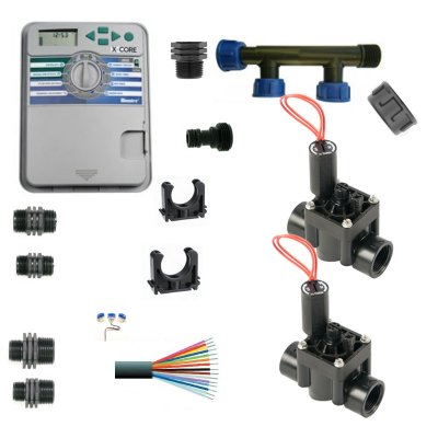 Hunter Control Unit With Manifold and 2 Solenoid Valves