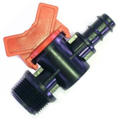 "16mm Ball Valve 16mm - 3/4"" BSP Male Thread"