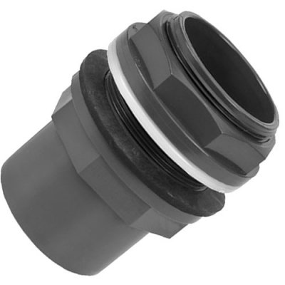 PVC Tank Connector 50/63mm Pipe