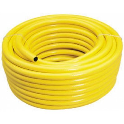 Yellow Garden Hose Medium Duty 15 Meters British Made