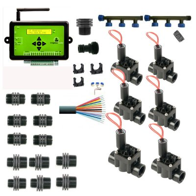 Caddy 10 Zone Web Based Control With Manifold and 6 Solenoid Valves