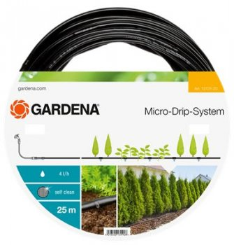 "Above Ground Drip Irrigation Line 13mm (1/2"") 25 Metres"
