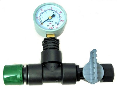 Mains Pressure And Flow Gauge