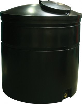 2000 Litre Round Tank Height 160 cm Diameter 143 cm