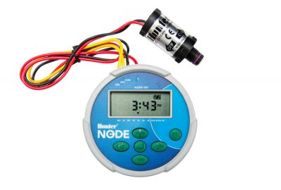 Hunter Node 100 Single Zone Comes With 9 Volt Solenoid