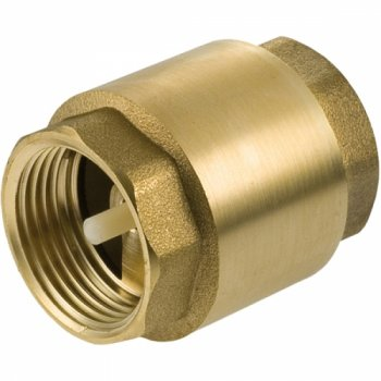 "Brass Spring Non Return Valve 11/2"" Female Thread"