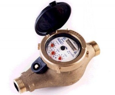 "Water Meter 2"" Male Thread"