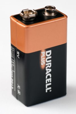 Duracell Plus Power 9V PP3 6LR61 Battery