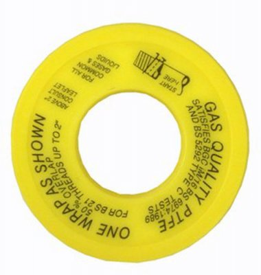 Gas Grade PTFE Threaded Joint Tape