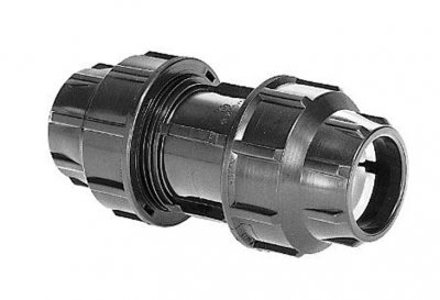 Straight Connector Compression Fitting 32mm
