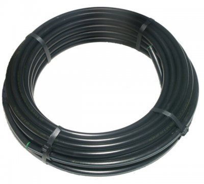 16mm Black LDPE Water Pipe (4Bar) 10 Metre Roll