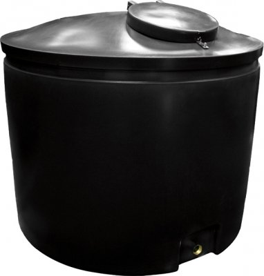 2300 Litre Round Tank Height 125 cm Diameter 160 cm