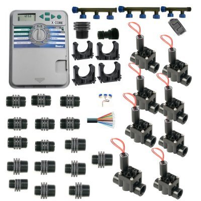 Hunter Control Unit With Manifold and 8 Solenoid Valves