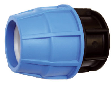 63mm Compression End Cap Suitable For MDPE Pipe