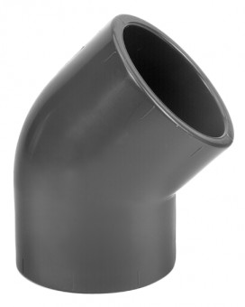 VDL PVC Elbow 45 Degrees 75 mm
