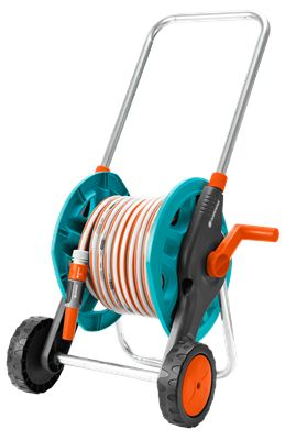 Gardena Hose Trolley With 30 Metres Of Classic Hose And Fittings