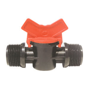 Barbed Valve 1 - 1 male Thread BSP Thread