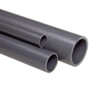 PVC Pipe 10 Bar Solvent Weld 75mm 2.49 Mtr Lengths