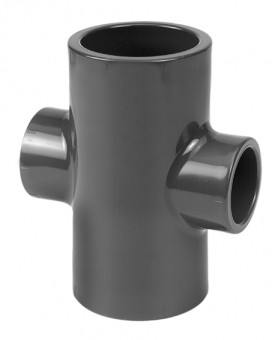 PVC Pipe Fitting Cross 40X40X32x32