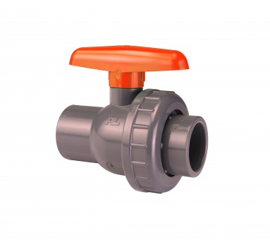 VDL Single Union Lever Valve Glue 20 mm Rated 16 Bar